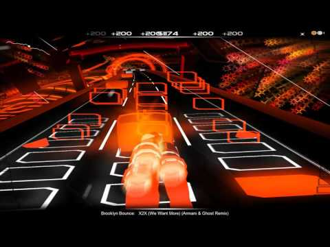 [Audiosurf] Brooklyn Bounce - X2X (We Want More!) (Armani & Ghost Remix)
