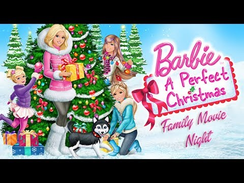 Family Movie Night Barbie A Perfect Christmas Youtube