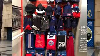 En direct à la boutique officielle du PSG