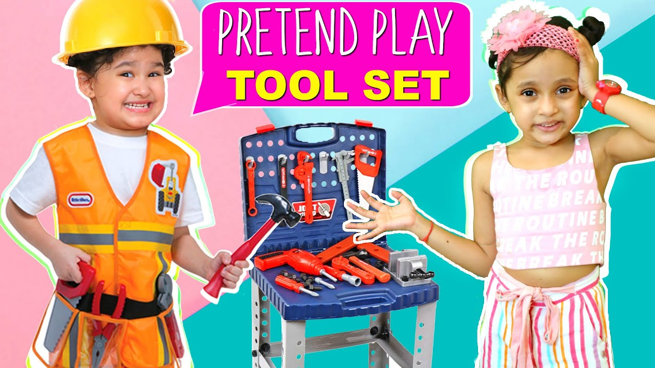 KIDS Pretend Play TOOL TOY Set | Fun Activity |  ToyStars