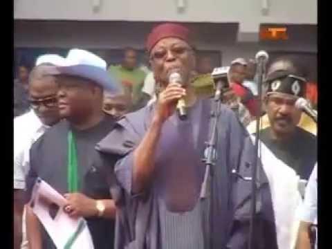 APC Flag off Presidential Campaign in Port Harcourt - GM Buhari and Prof. Osinbajo