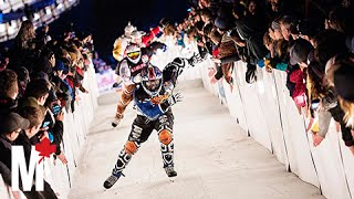 What it feels like to skate in Red Bull's Crashed Ice race