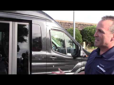 Ford Transit with Bus Door Modification Saves Money, Time