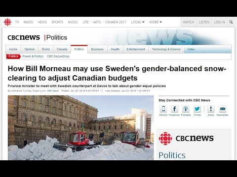 Canada wants Feminist Snowplowing too