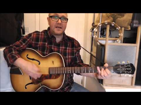 Worried Man Blues - Skiffle - Vipers Skiffle Group / Chas McDevitt / Dick Bishop cover - Jez Quayle