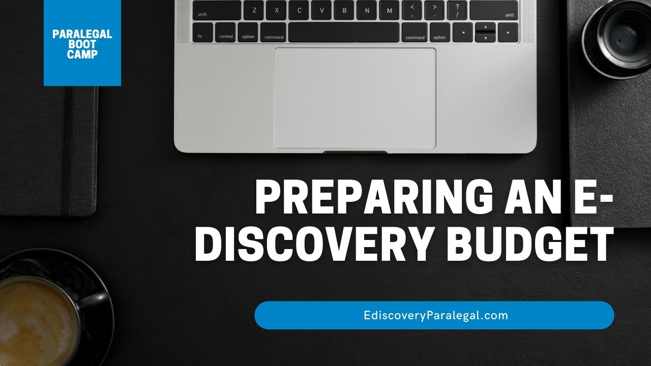 quick tips on using the e discovery budget estimator youtube