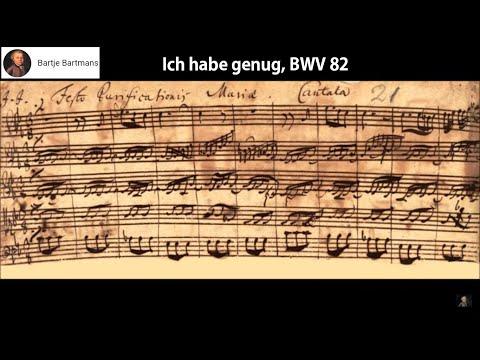 J.S. Bach - Ich habe genug, BWV  82 (1727) {Fischer-Dieskau}