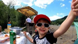 Семейный отдых и рыбалка на реке Черный Июс! (часть 2) 6Июля2019г
