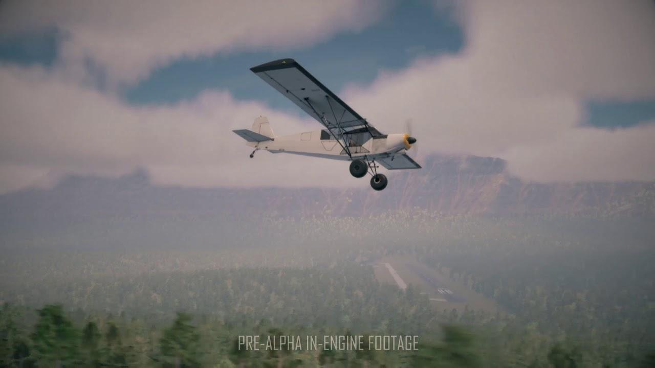 Deadstick - Bush Flight Simulator Announcement Trailer