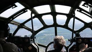 B29 Flying Over Gatineau Quebec On First Canadian Tour