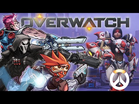Overwatch Beta - The Himalayan Salt Mines