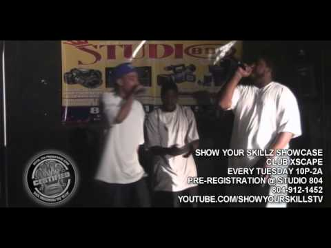 OUTSIDAZ..LIVE @ SHOW YOUR SKILLS SHOWCASE EVERY TUES@CLUB XSCAPE..RICHMOND,VA!!8/3/2010