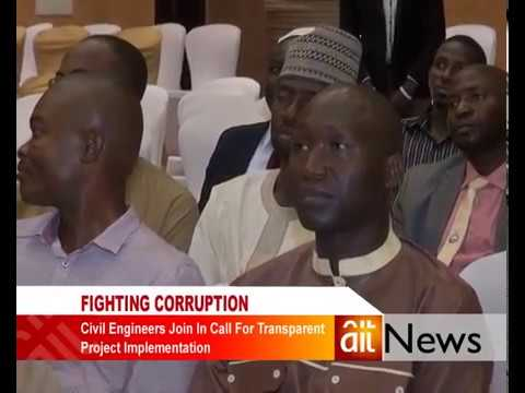 Civil Engineers workshop: Fighting corruption in Nigeria