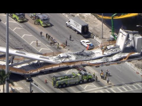 FIU bridge collapse live coverage: Several killed in pedestr