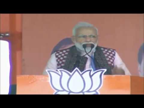PM Shri Narendra Modi addresses public meeting in Sambalpur, Odisha : 16.04.2019