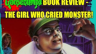goosebumps book review the girl who cried monster