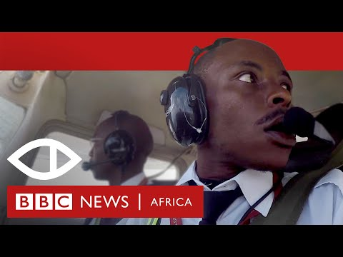 How a street kid became a pilot - BBC Africa Eye documentary