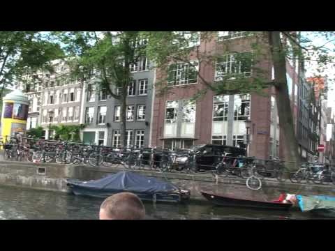 Vacation Aug 09 Amsterdam Canal Cruise Part 2