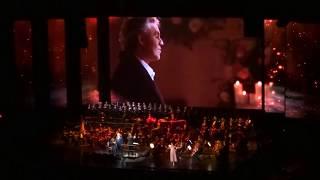 Andrea Bocelli - Ave Maria - Cleveland - 12/1/17