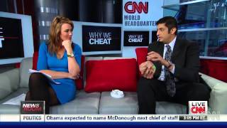 "Sanjay Dhall on CNN segment ""Why We Cheat"" with Brooke Baldwin"