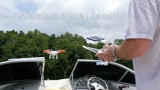 IrixGuy Landing DJI Phantom 3 Pro on Boat in 4K UltraHD