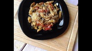 Фунчоза с курицей и овощами: рецепт от Foodman.club