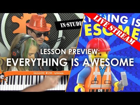 Everything Is Awesome - Kids' Live Lesson Preview