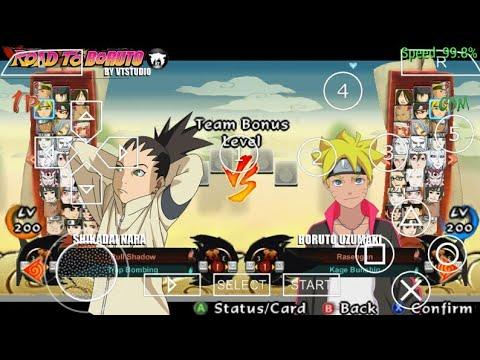 download naruto senki storm 4 road to boruto mod apk