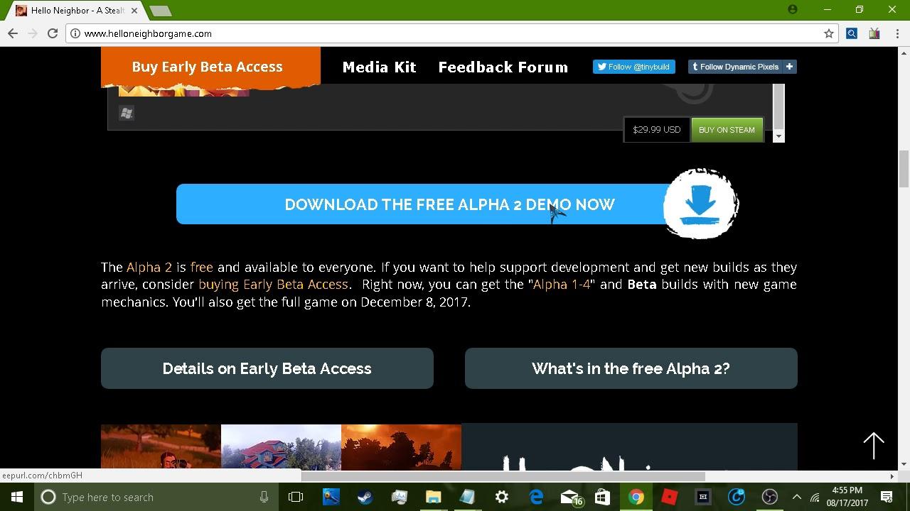 hello neighbor free download alpha 2 mega