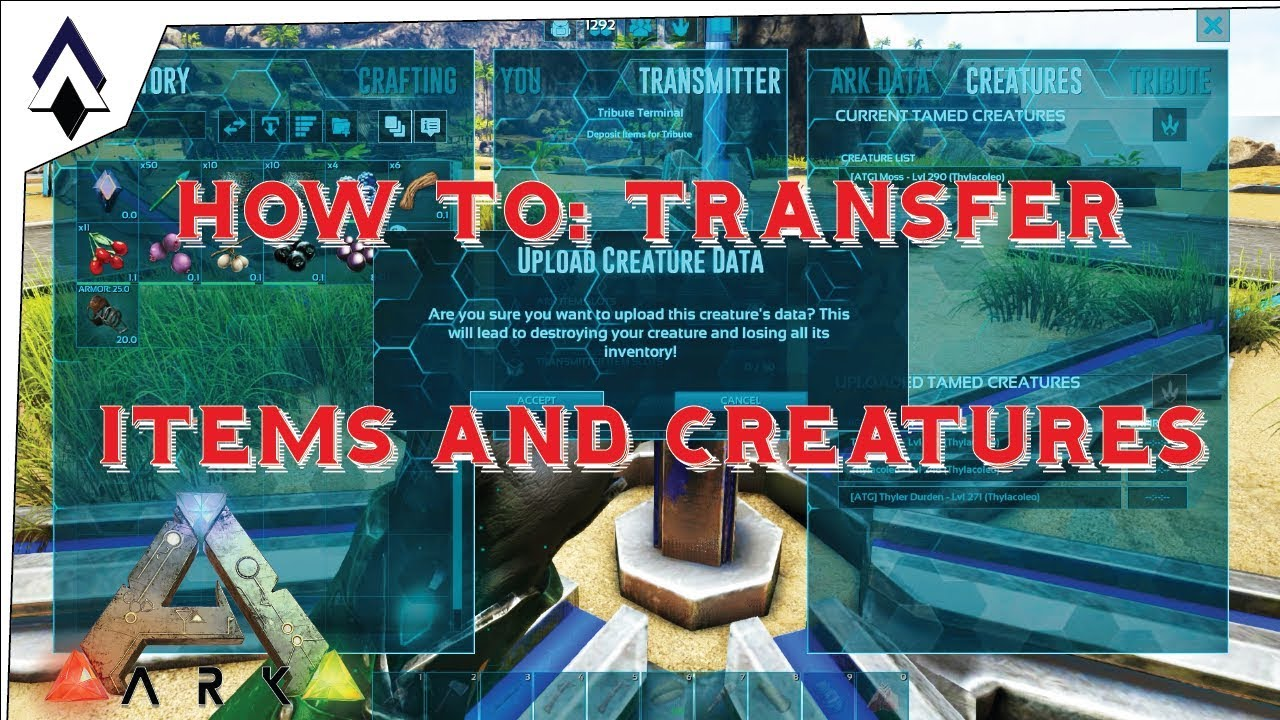 Is it practical to transfer from ark to ark frequently and