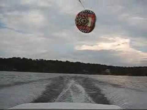 Extreme Kite Tubing Accident