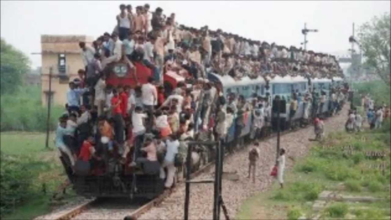 Image result for india busy train