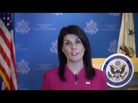 BBYO IC 2018 Address: The Honorable Nikki Haley, United States Ambassador to the United Nations