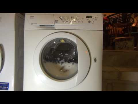 Zanussi Jet System Progress ZWF1437 Washing Machine : 500rpm test