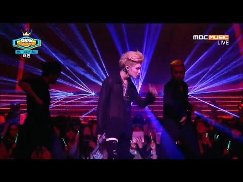 [1080p] 150401 Taemin 태민 - Danger 괴도 (Remix) SHOW CHAMPION