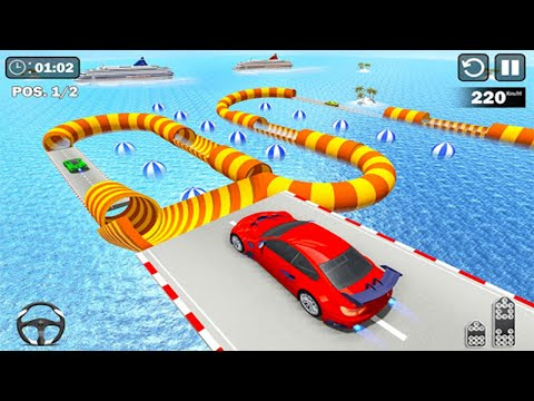 GT Mega Ramp Stunts Free - Android GamePlay - Car Games Android