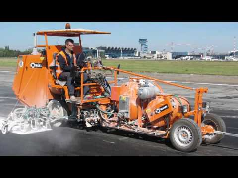 HOFMANN Airport Runway And Airfield Marking Machines 2016