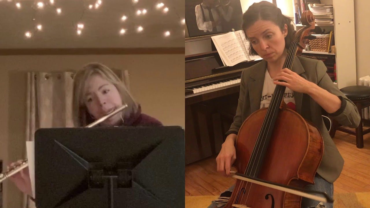 "Erin Nyren and Catherine Little perform ""The Jet Whistle"""