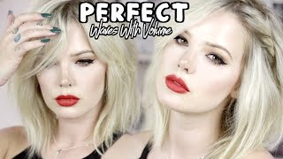 PERFECT WAVES WITH VOLUME AND TWISTS HAIR TUTORIAL (Using The Curling Iron That Changed My Life)