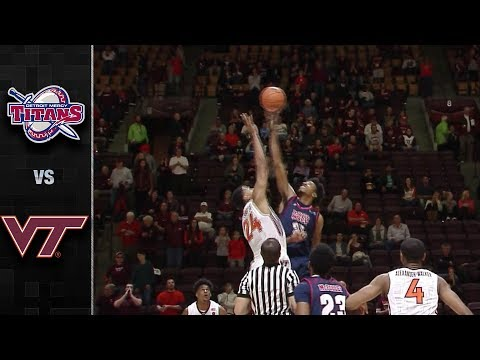 Detroit Mercy vs. Virginia Tech Basketball Highlights (2017)