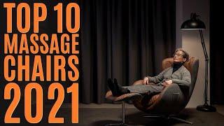 Top 10: Best Electric Massage Chairs of 2021 / Massage Recliner, Full Body, Zero Gravity, Shiatsu