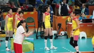 2016 Rio Olympic Women Volleyball Zhu Ting 朱婷