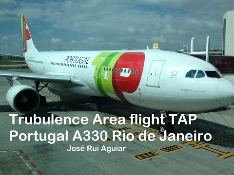 Extreme Turbulence on Flight TAP Portugal Airbus A330 in Rio