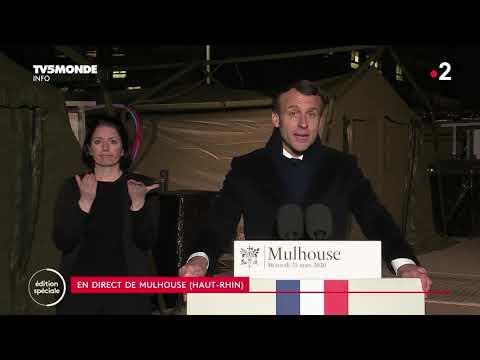 ���� Covid-19 - Emmanuel Macron appelle à l'union contre le Coronavirus - Allocution du 25 mars 2020