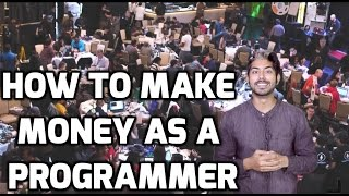 I'll go through 5 methods that you can use to make money as a programmer! we are lucky in our skill will only get more valuable society over time. li...