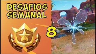 ¿Como COMPLETAR Todos Los DESAFIOS de la SEMANA 8? Temporada 5 Fortnite Battle Royale