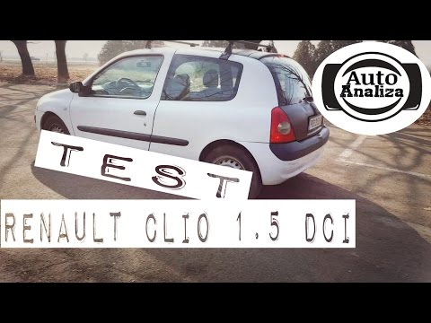 Test polovnjaka: Renault Clio 2 1.5 dci