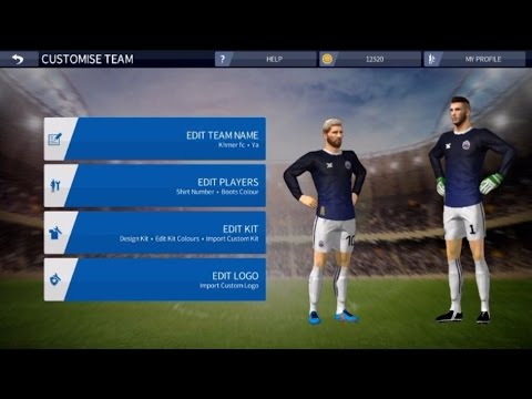 5b1f2918c How to Custom Dream League Soccer all kit and Cambodia Kit 16/17 for  iPhone, iPad, and iPod touch