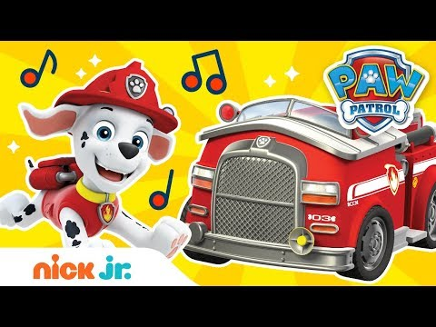 Sing Along to 'Hurry, Hurry, Drive the Fire Truck' ft. Marshall 🚒   Sing-Along   Nick Jr.