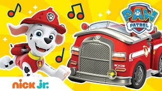 Sing Along to 'Hurry, Hurry, Drive the Fire Truck' ft. Marshall from Paw Patrol! 🚒 Nick Jr.